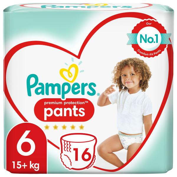 Pampers Premium Protection Pants Gr. 6 Extra Large 15+kg