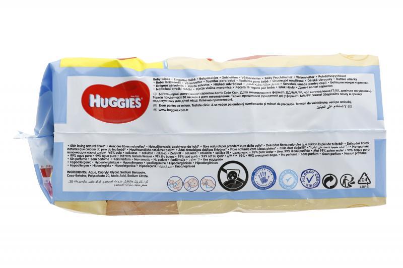 Huggies Pure Feuchte Baby Pflegetücher
