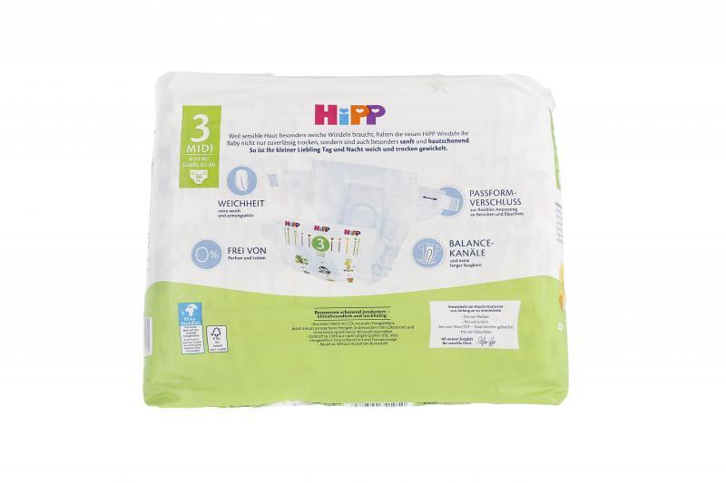 Hipp Babysanft Windeln Gr. 3 Midi 6-10kg