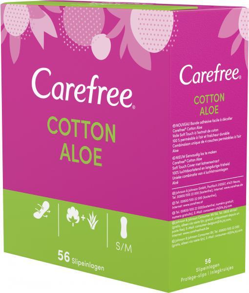 Carefree Slipeinlagen Cotton Aloe Gr. S/M