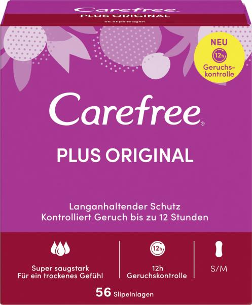 Carefree Slipeinlagen Plus Original Gr. S/M