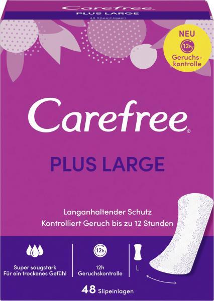 Carefree Slipeinlagen Plus Large Gr. L