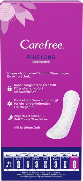 Carefree Slipeinlagen Plus Long Gr. L/XL