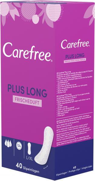 Carefree Slipeinlagen Plus Long Frischeduft Gr. L/XL