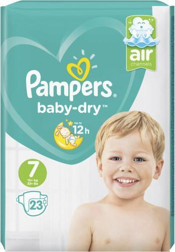 Pampers Baby-Dry Gr. 7 Extra Large 15+kg