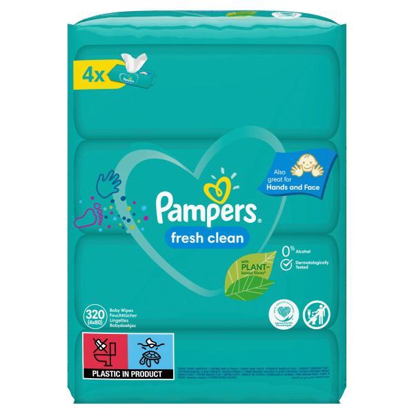 Pampers Feuchte Tücher Fresh Clean
