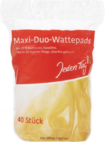 Jeden Tag Maxi-Duo-Wattepads