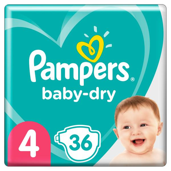 Pampers Baby Dry Gr. 4 Maxi 9-14kg Einzelpack