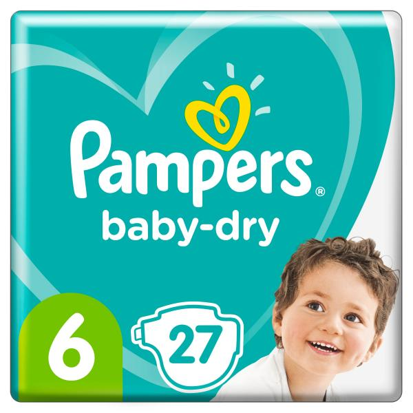 Pampers Baby Dry Gr. 6 Extra Large 13-18kg Einzelpack
