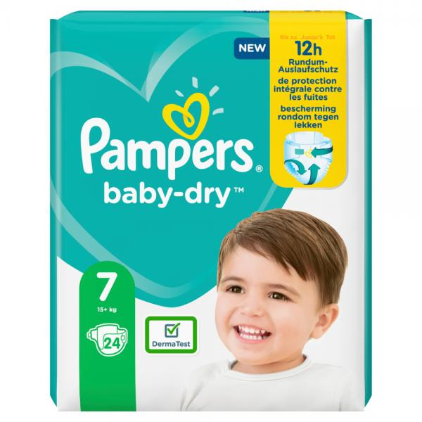 Pampers Baby Dry Gr. 7 Extra Large 15+kg Einzelpack