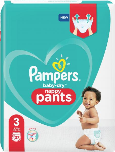 Pampers Baby Dry Pants Gr.3 Maxi 6-11 kg Einzelpack