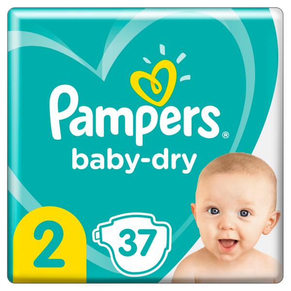 Pampers Baby Dry Gr. 2 Mini Tragepack 4-8kg