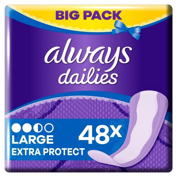 Always Slipeinlagen Extra Protect Large