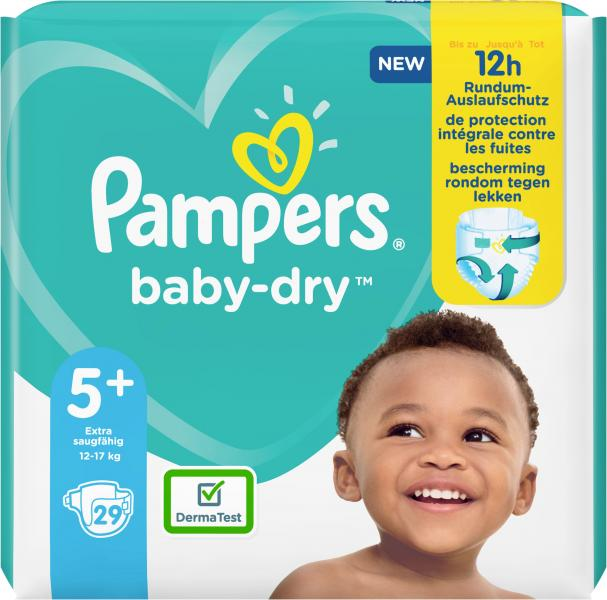 Pampers Windeln Baby Dry Gr. 5+  12-17kg