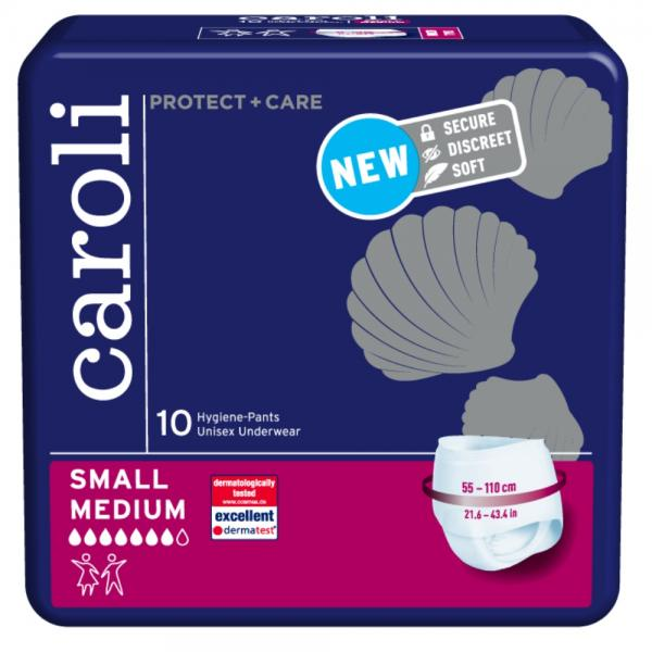 Caroli Protect + Care Hygiene-Pants Small Medium