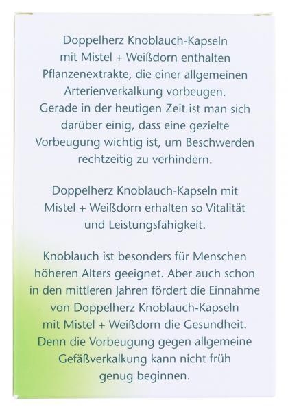 Doppelherz aktiv Knoblauch Kapseln