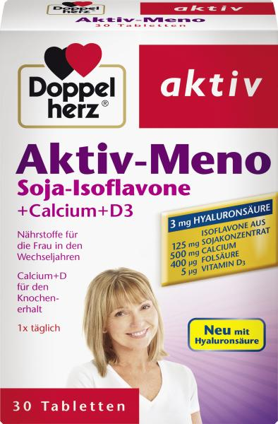 Doppelherz aktiv Aktiv-Meno Soja-Isoflavone + Calcium + D3