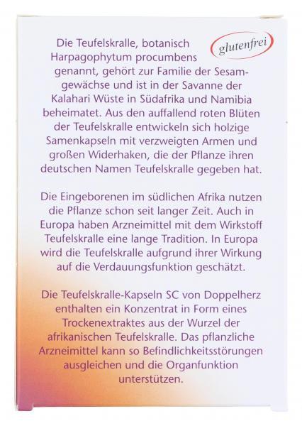 Doppelherz aktiv Teufelskralle-Kapseln SC