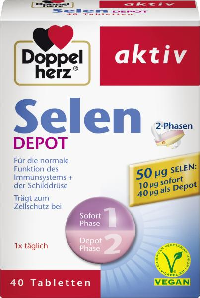 Doppelherz aktiv Selen Depot