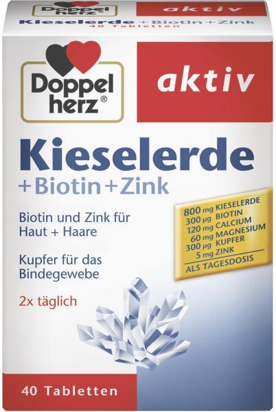 Doppelherz aktiv Kieselerde + Biotin + Zink