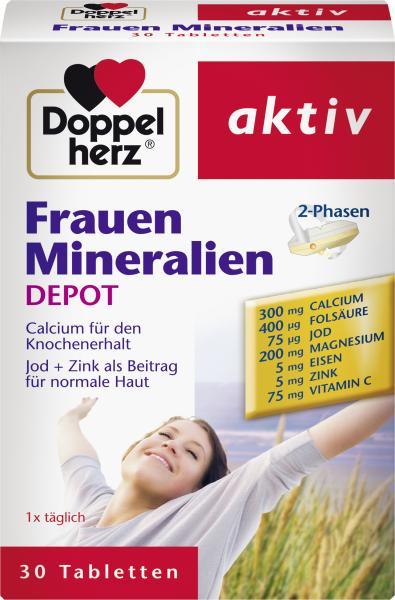 Doppelherz aktiv Frauen Mineralien Depot