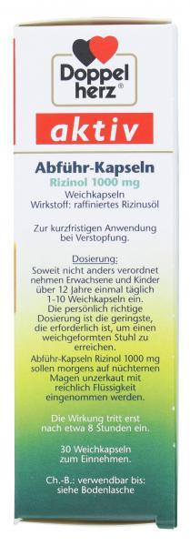 Doppelherz aktiv Abführ-Kapseln hochdosiert