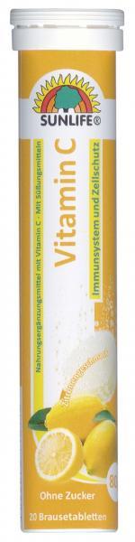 Sunlife Vitamin C Brausetabletten