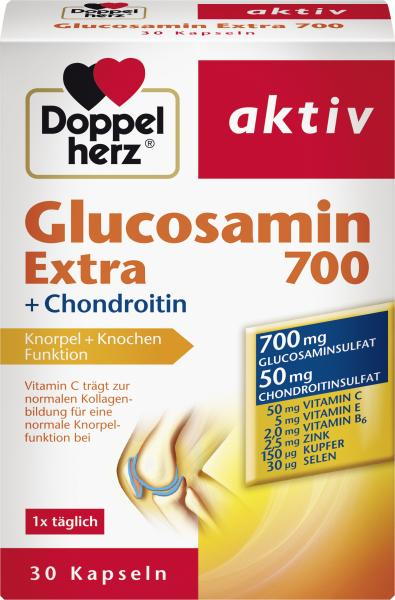 Doppelherz aktiv Glucosamin Extra 700 + Chondroitin Kapseln