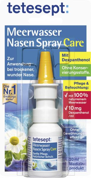 Tetesept Meerwasser Nasenspray Care