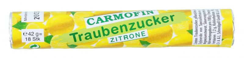 Carmofin Traubenzucker Zitrone