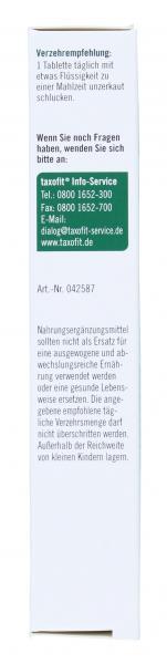 Taxofit Vitamin B-Komplex forte + Folsäure Tabletten