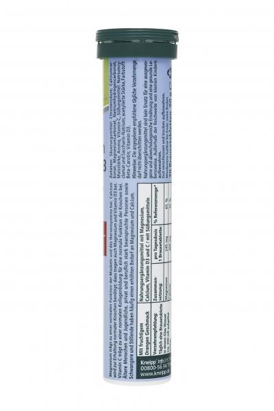 Kneipp Magnesium + Calcium + D3 Brausetabletten