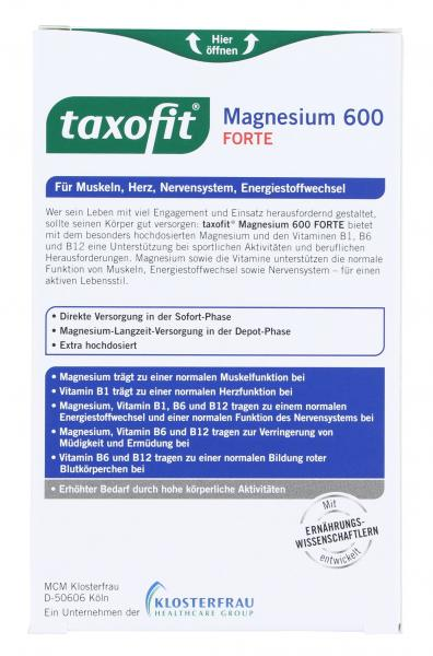 Taxofit Magnesium 600 Forte Tabletten