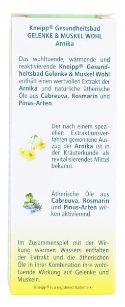 Kneipp Gelenke & Muskel Wohl Arnika Gesundheitsbad