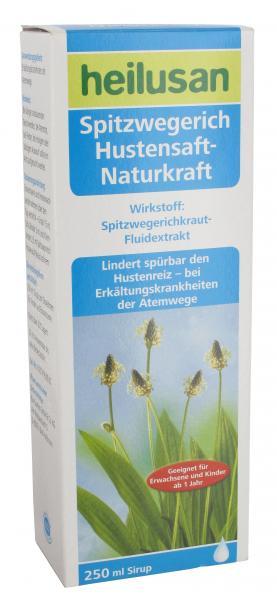 Heilusan Spitzwegerich Hustensaft - Naturkraft
