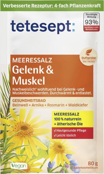 Tetesept Meeressalz Gelenk & Muskel Gesundheitsbad