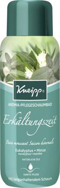 Kneipp Erkältungszeit Aroma-Pflegeschaumbad Eukalyptus Minze