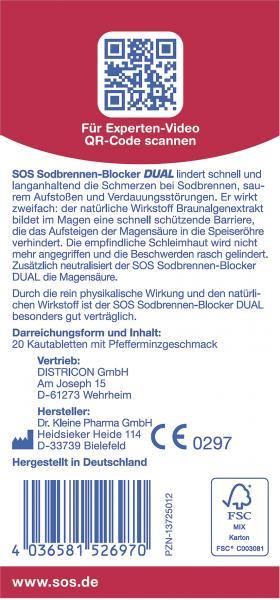 SOS Sodbrennen-Blocker Dual