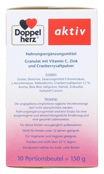 Doppelherz aktiv Heiße Cranberry mit Vitamin C + Zink