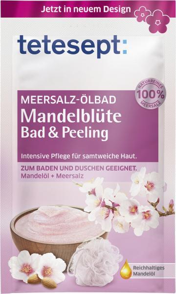 Tetesept Mandelblüte Meersalz-Ölbad