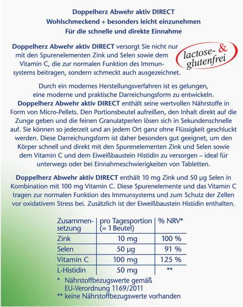 Doppelherz aktiv Abwehr aktiv Direct