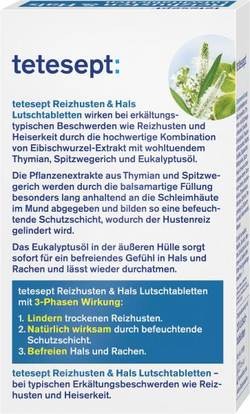 Tetesept Husten & Hals Lutschtabletten