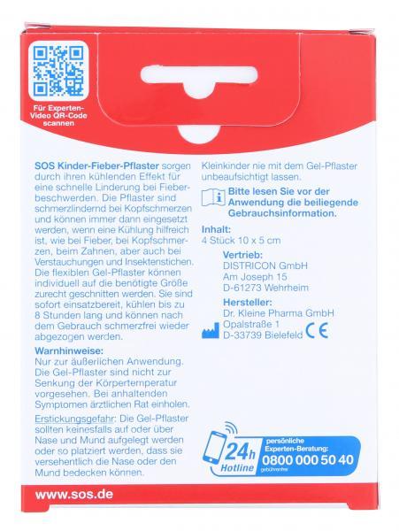 SOS Kinder-Fieber-Pflaster