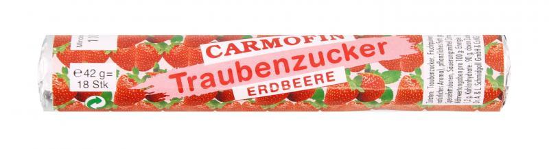 Carmofin Traubenzucker Erdbeere