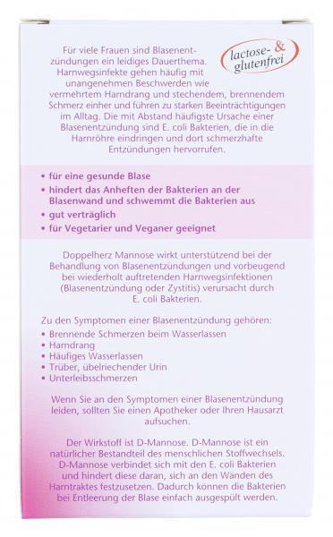 Doppelherz aktiv Mannose bei Blasenentzündung