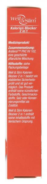 Well & Slim Kalorien Blocker 2 in 1