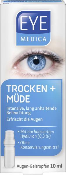Eye Medica Gel-Tropfen Trocken + Müde