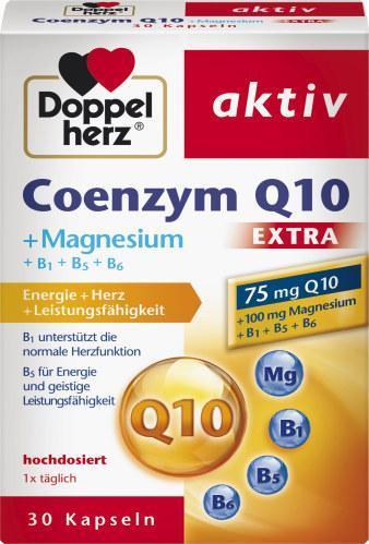 Doppelherz Coenzym Q10 + Magnesium extra