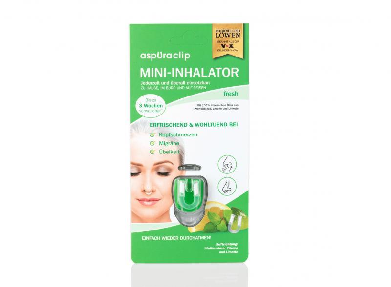 aspuraclip fresh – Mini Inhalator