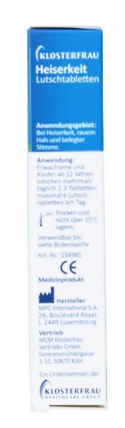 Klosterfrau Heiserkeit Lutschtabletten